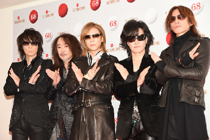 X JAPAN・YOSHIKI、紅白でドラム演奏の噂に「紅はマズいけど、普通のドラムなら」
