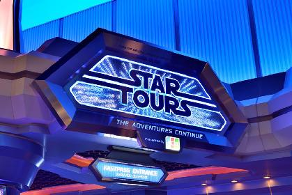 TDLスター・ツアーズに『スター・ウォーズ/最後のジェダイ』が登場 東京ディズニーリゾート®全体が『スター・ウォーズ』の世界に