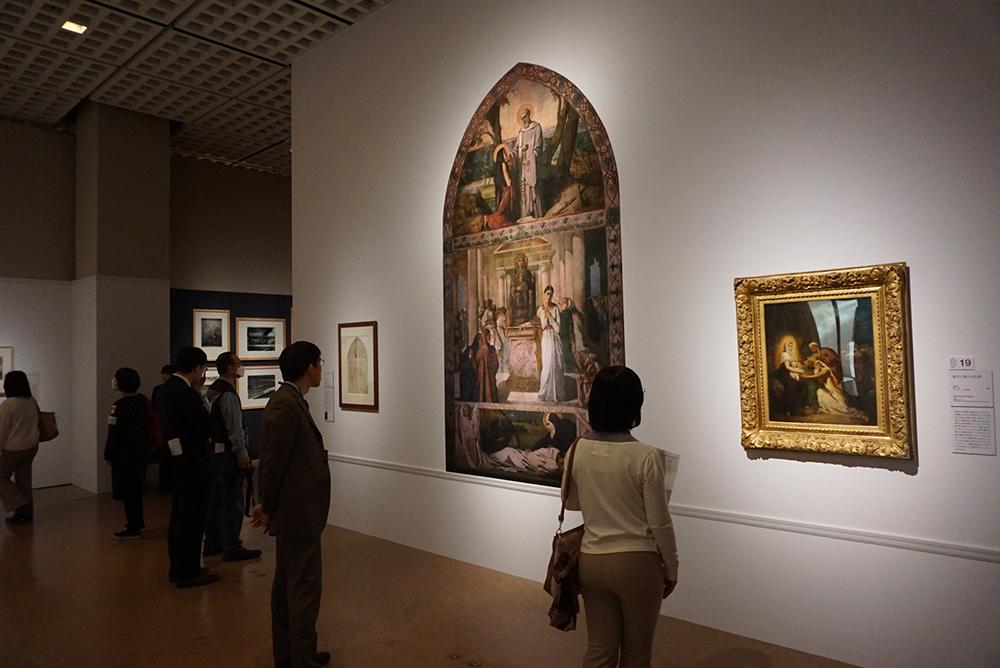 テオドール・シャセリオー <東方三博士の礼拝> 1856年 パリ、プティ・パレ美術館 他
