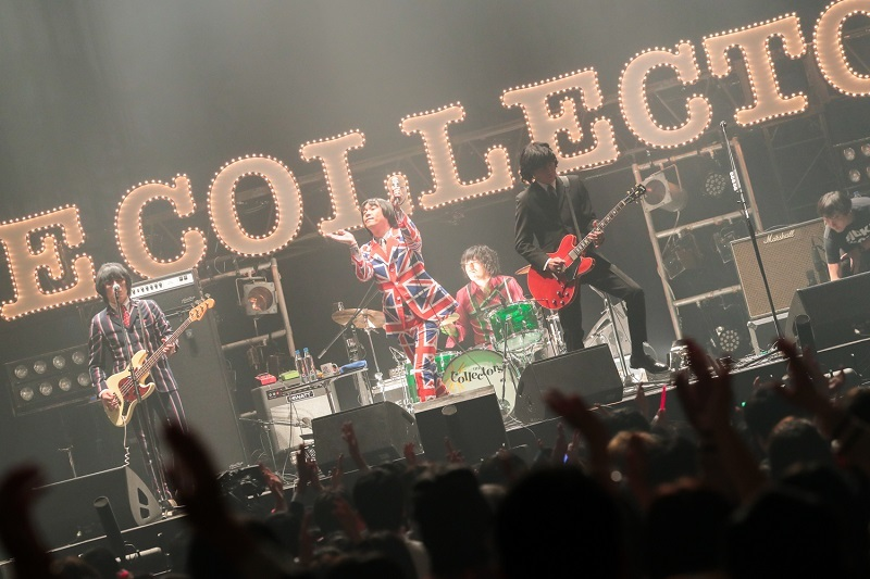 "THE COLLECTORS ""MARCH OF THE MODS"" 30th Anniversary 撮影=柴田恵理"
