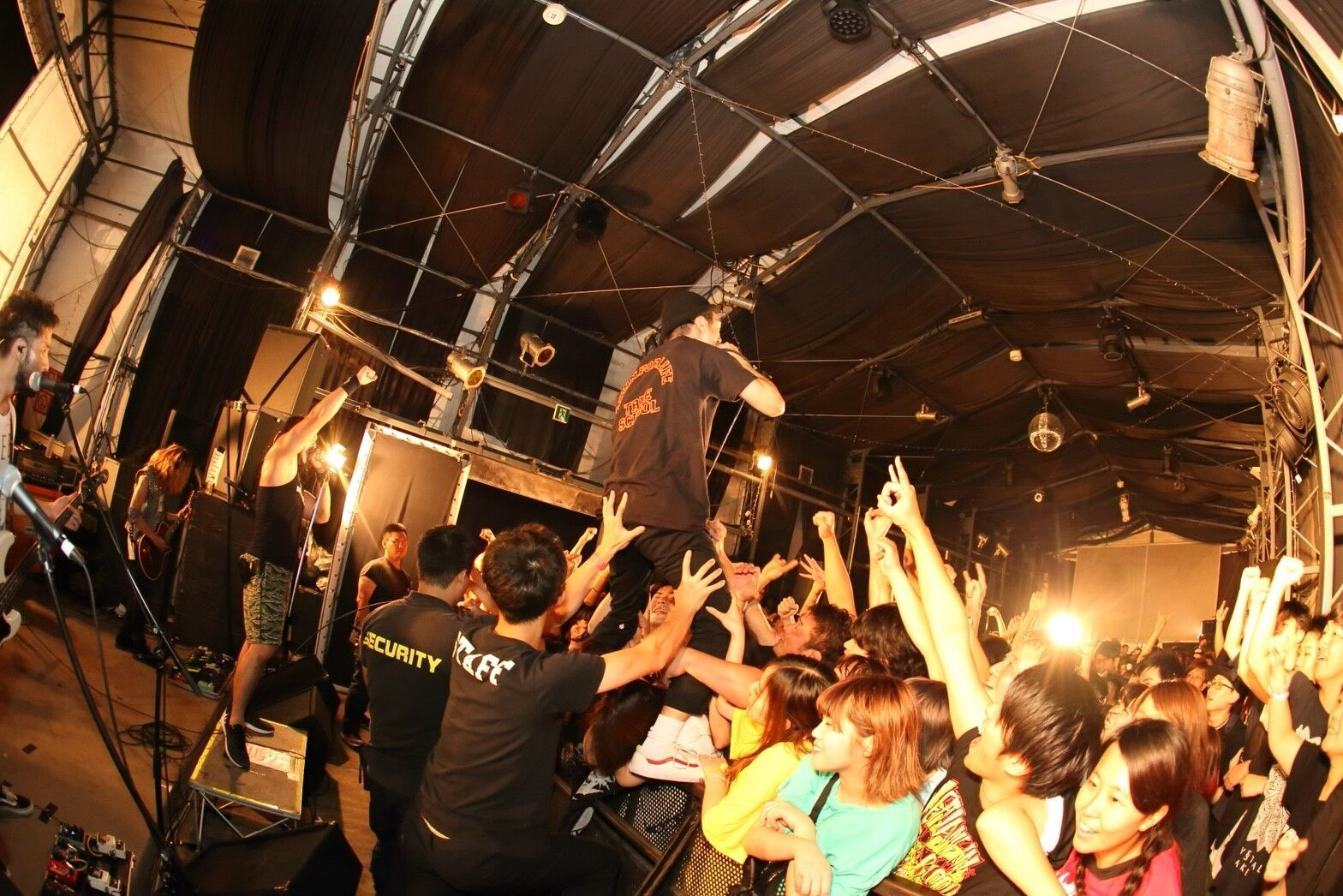 HER NAME IN BLOOD /with Ryo(CRYSTAL LAKE) Photo by PE-SK