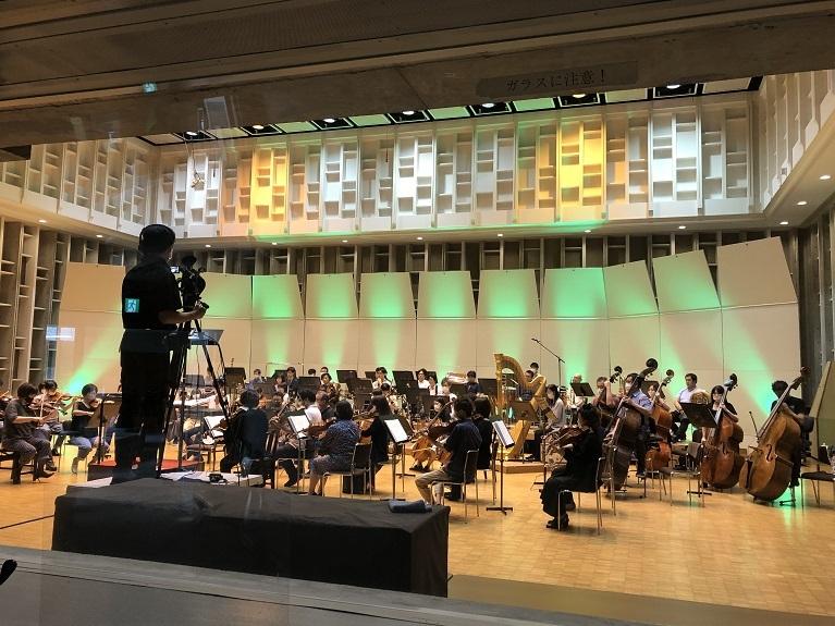ドラゴンクエストの有料ライブ配信は既に2回実施  写真提供:日本センチュリー交響楽団