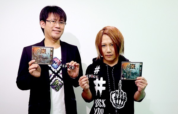 『モンスターハンタークロス』プロデューサー小嶋慎太郎さんと、ナイトメアのボーカルのYOMIさん