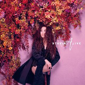 JUJU「元気を出したい時のBGMにしていただけたら」 最新シングル「STAYIN' ALIVE」をJ-WAVEで初オンエア
