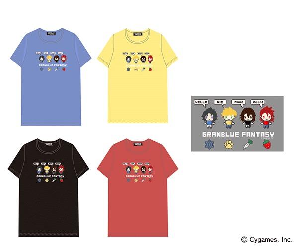 四騎士Pixel Art T シャツ(ランスロット / ヴェイン / ジークフリート / パーシヴァル)