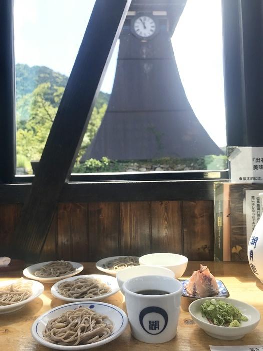 出石に来たらぜひ食べておきたい「出石そば」。 [撮影]吉永美和子