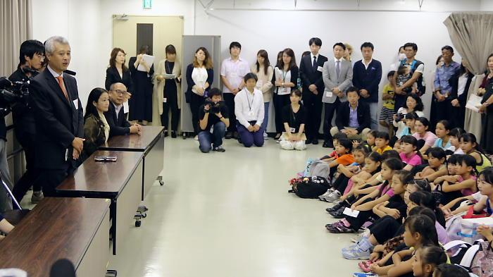 丸美屋食品工業株式会社 広報宣伝室 室長 杉山典由氏が挨拶