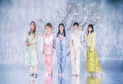 Little Glee Monster、TVアニメ『半妖の夜叉姫』弐の章エンディングテーマ「透明な世界」シングルリリース決定