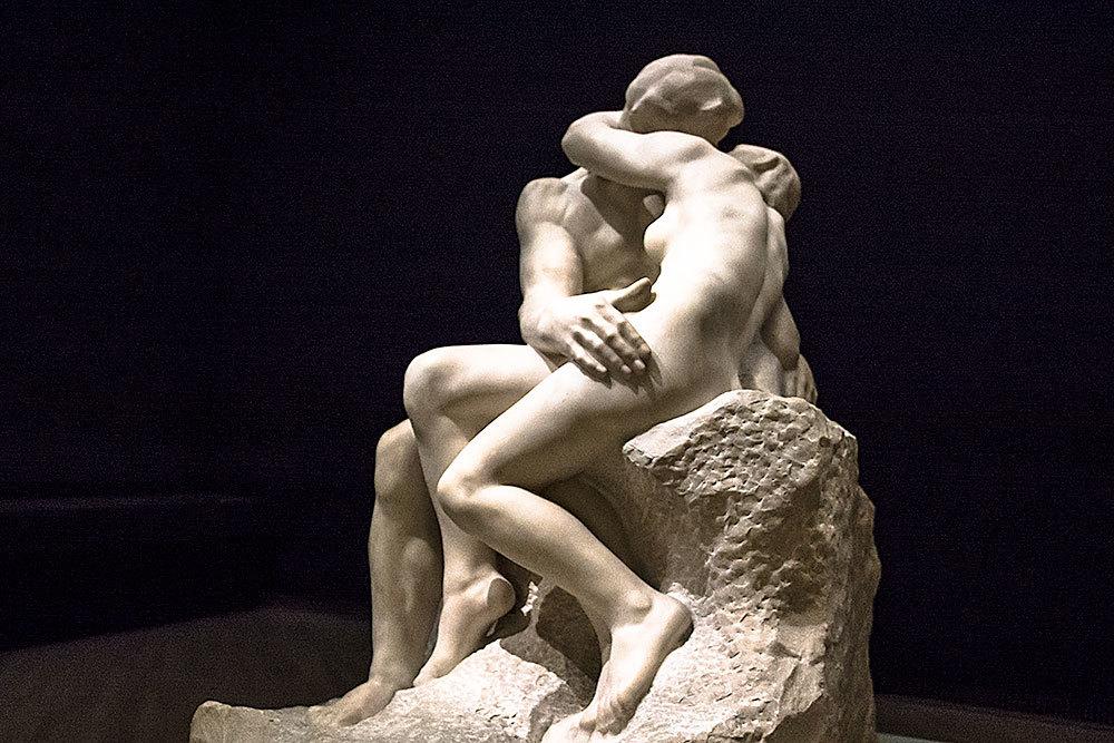 オーギュスト・ロダン『接吻』1901-4年 (C) Tate, London