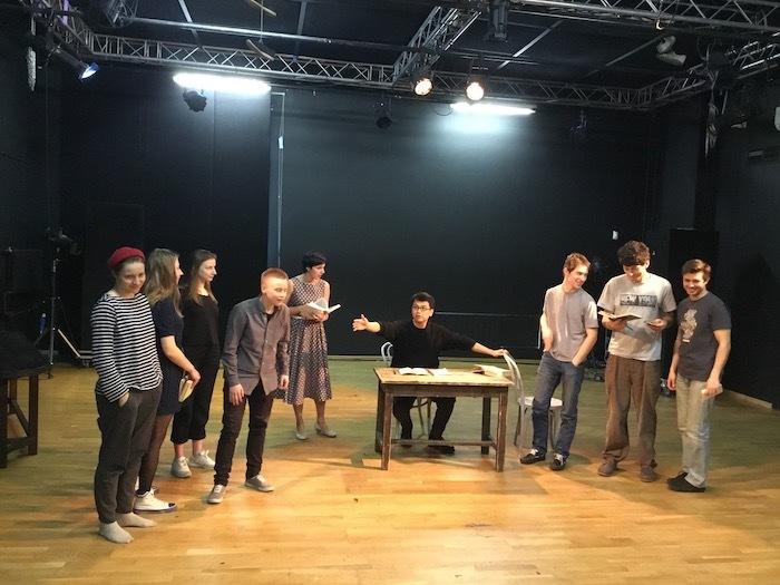 三浦基は、ボリショイ・ドラマ劇場で演出家養成のためのマスタークラス講師として招聘された 提供:地点