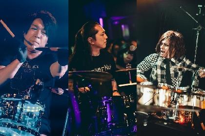 Sakura×LEVIN×shuji ドラムを愛しドラムに生きる、嵐を呼ぶ男たちのイベント『Busker Noir』とは
