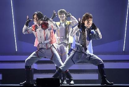 ネルケ発のアイドルステージ『プライムーン』が開幕 舞台写真&赤河 望・青羽 朔・浅黄 宵、KIMERUよりコメントも