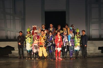 斬劇『戦国BASARA』小田原征伐、東京公演開幕「全員で小田原征伐というひとつの船にのって」