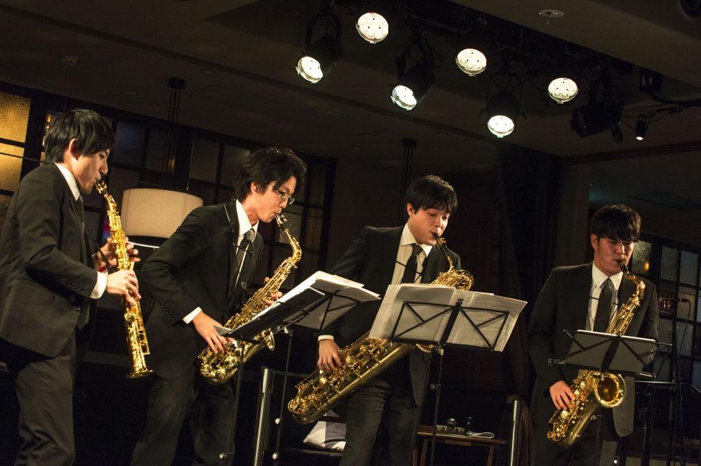 The Rev Saxophone Quartet
