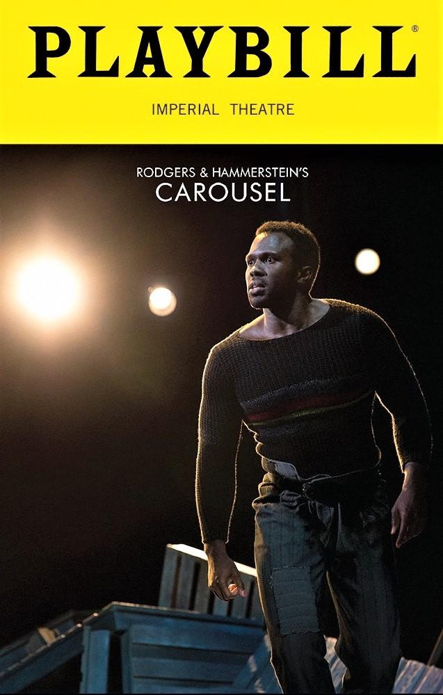 ビリー役ジョシュア・ヘンリーを表紙にあしらった、2018年再演版のプレイビル