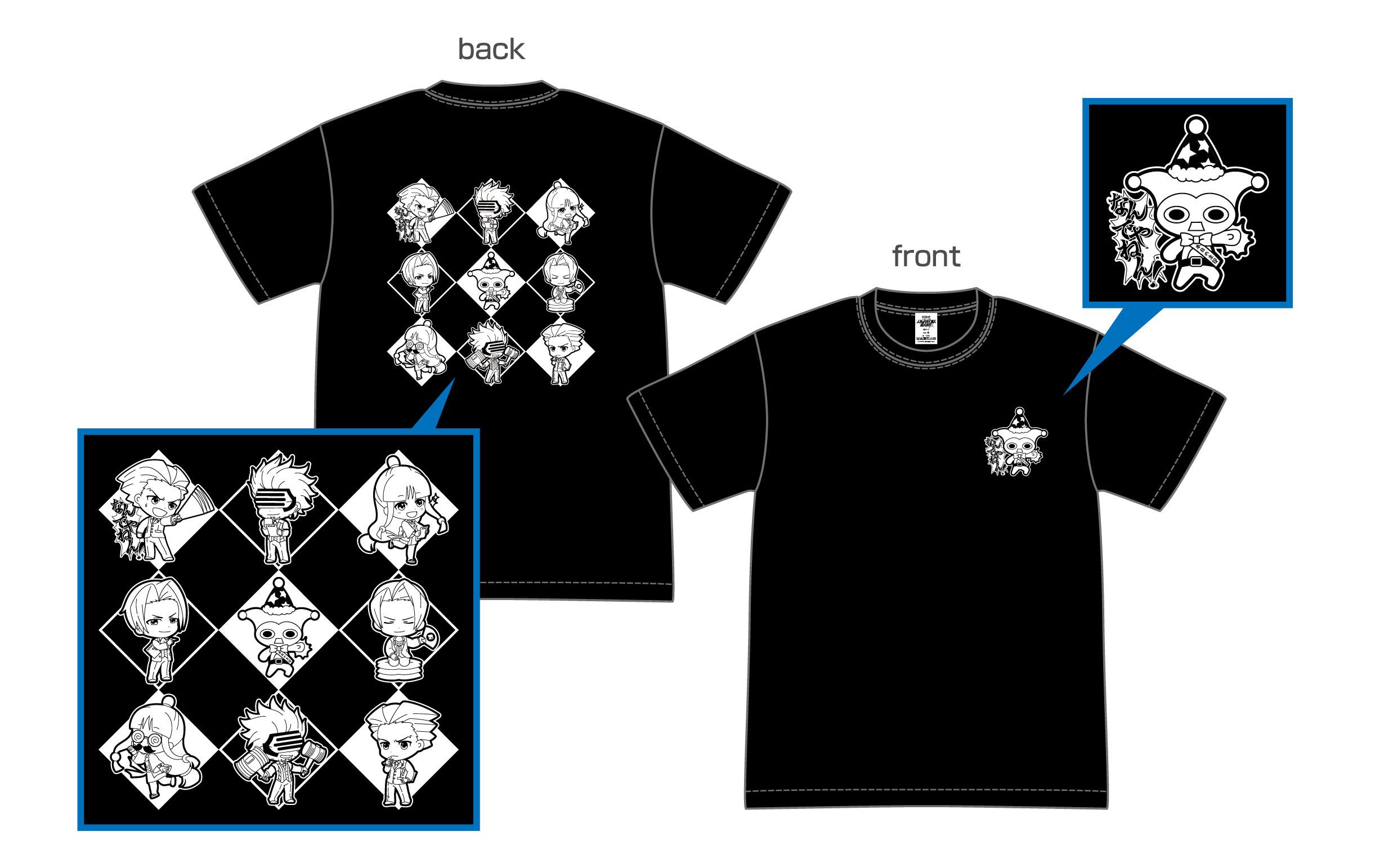 Tシャツ S/M/L 各3,000円