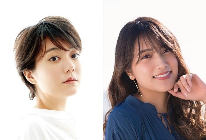 (左から)鈴木杏、入山杏奈(AKB48)
