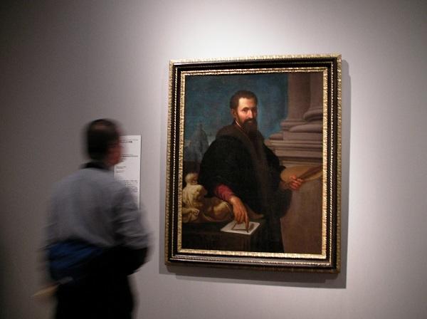 《ミケランジェロの肖像》パッシニャーノ 17世紀初頭 個人蔵