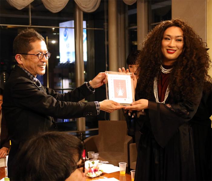 MIKEY「第10回日本ダンスフォーラム賞 授賞式」