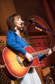 大原櫻子、アカペラの歌声を教会広場に響かせる お台場でフリーライブを開催