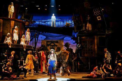 生田絵梨花、神木隆之介が初々しく軽やかに演じる 『キレイー神様と待ち合わせした女―』東京公演レポート&舞台写真到着
