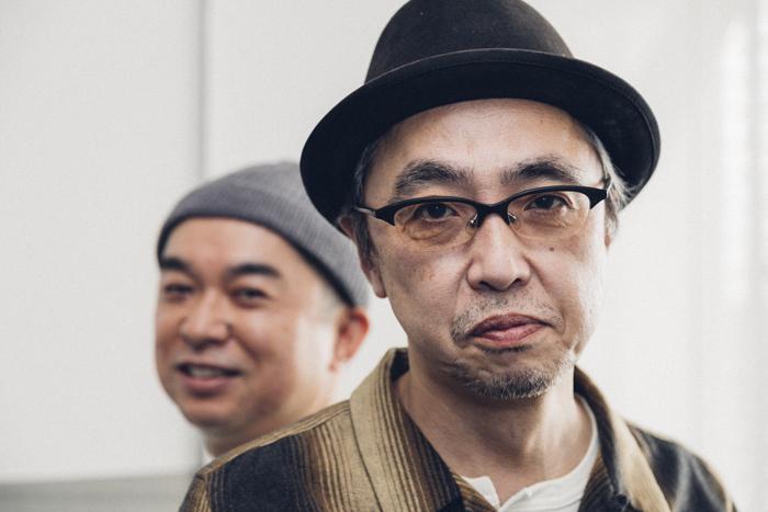 (左から)横山拓也、寺十吾