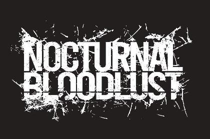 NOCTURNAL BLOODLUST、2ヵ月連続リリース発表&ティザー映像公開