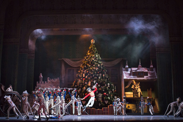 THE NUTCRACKER. Artists of The Royal Ballet, Act II  (c) 2016 ROH. Photograph by Helen Maybanks