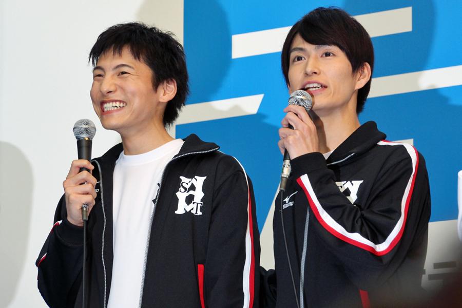 左から、宮崎秋人、松田凌