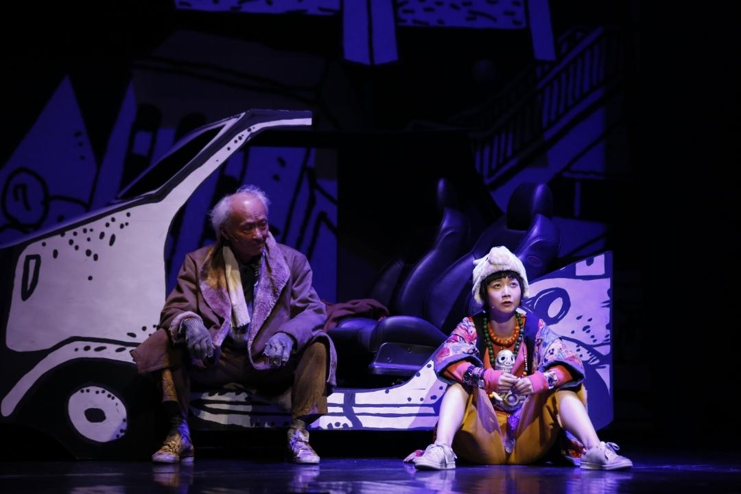 舞台『鉄コン筋クリート』ゲネプロ