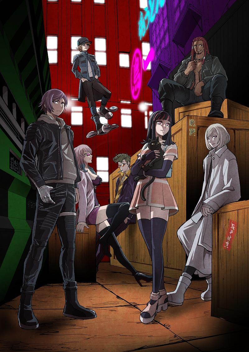 オリジナルTVアニメ『アクダマドライブ』キービジュアル