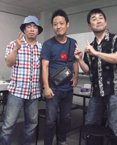 転球劇場(左から)高木稟、福田転球、橋田雄一郎