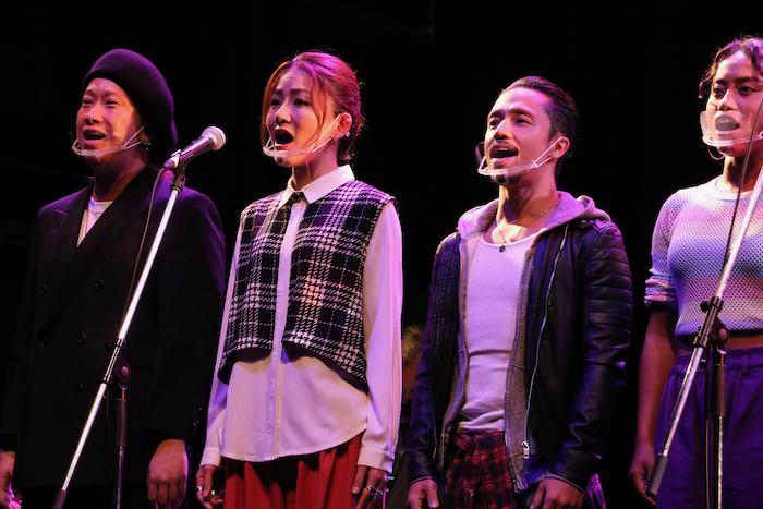 (左から)奈良木、宮本、ICHI、コリ