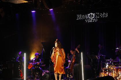 JUJU「どんな形であれライブができていることが本当に嬉しいです」 デビュー日にブルーノート東京で毎年恒例JAZZライブを無観客生配信で開催