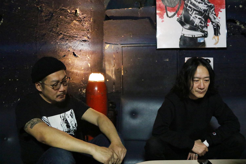 菅原 雄氏(『Flowers Loft』新店長)、大塚智昭氏(ロフトプロジェクト音楽統括)