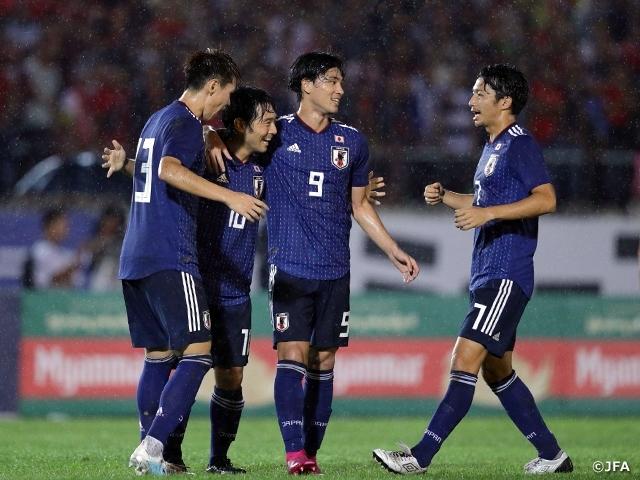 昨年9月10日にアウェーで行われた『2022FIFAワールドカップカタール アジア2次予選 兼 AFCアジアカップ中国2023 予選』で、日本はミャンマーに2-0で勝利している (c)JFA