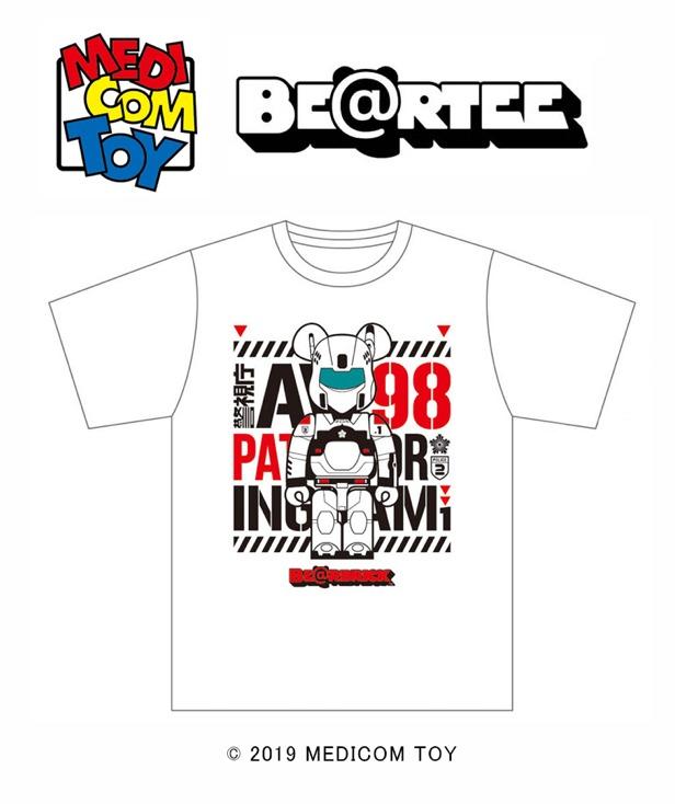 オリジナルTシャツ BE@RTEE PATLABOR 3,800円(税別)