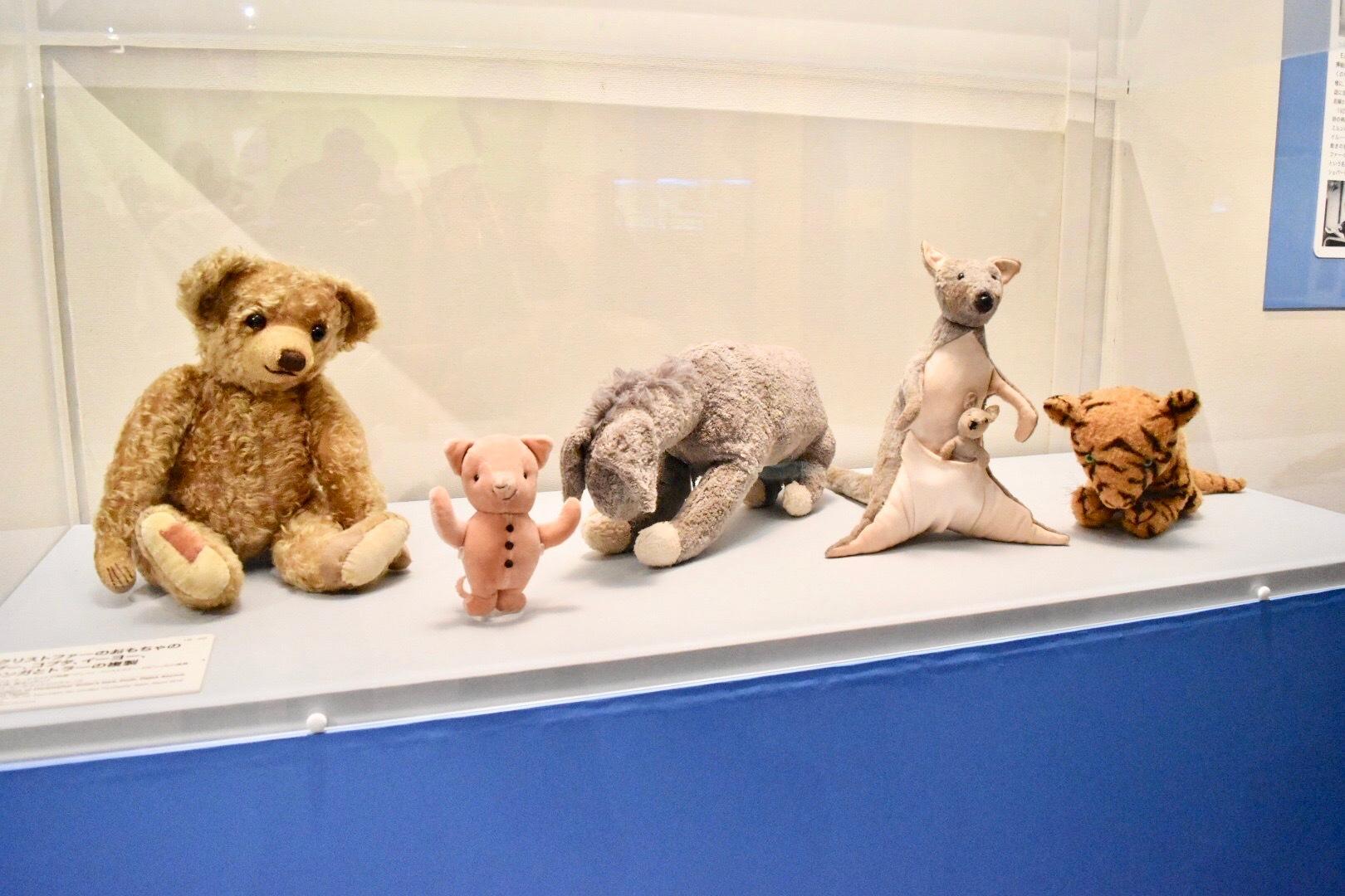 クリストファーのおもちゃのプー、コブタ、イーヨー、カンガとトラーの複製 2016年頃 フォックス・サーチライトピクチャーズ所蔵