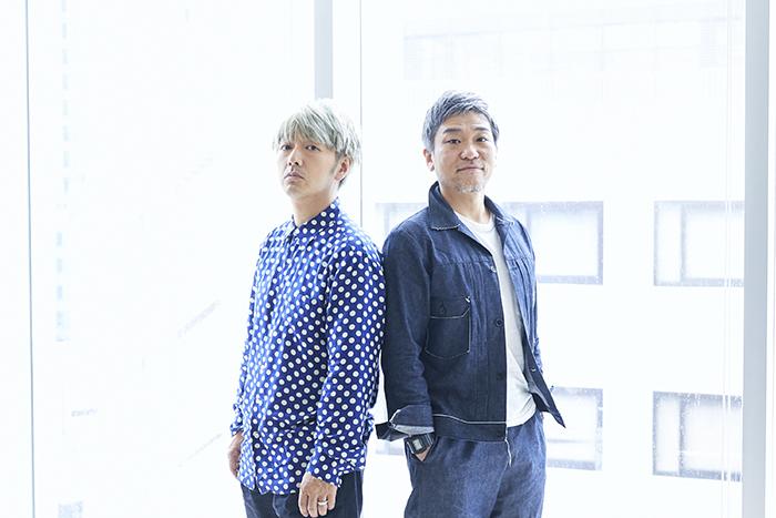 (左から)川本成、喜安浩平