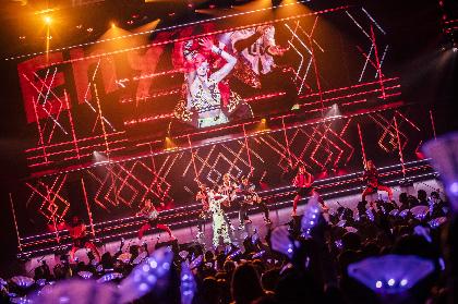 倖田來未が最高の公演と名高い『JAPONESQUE』を『大阪文化芸術FES 2019』で再現、肉体芸術と呼ぶにふさわしい至極のパフォーマンス