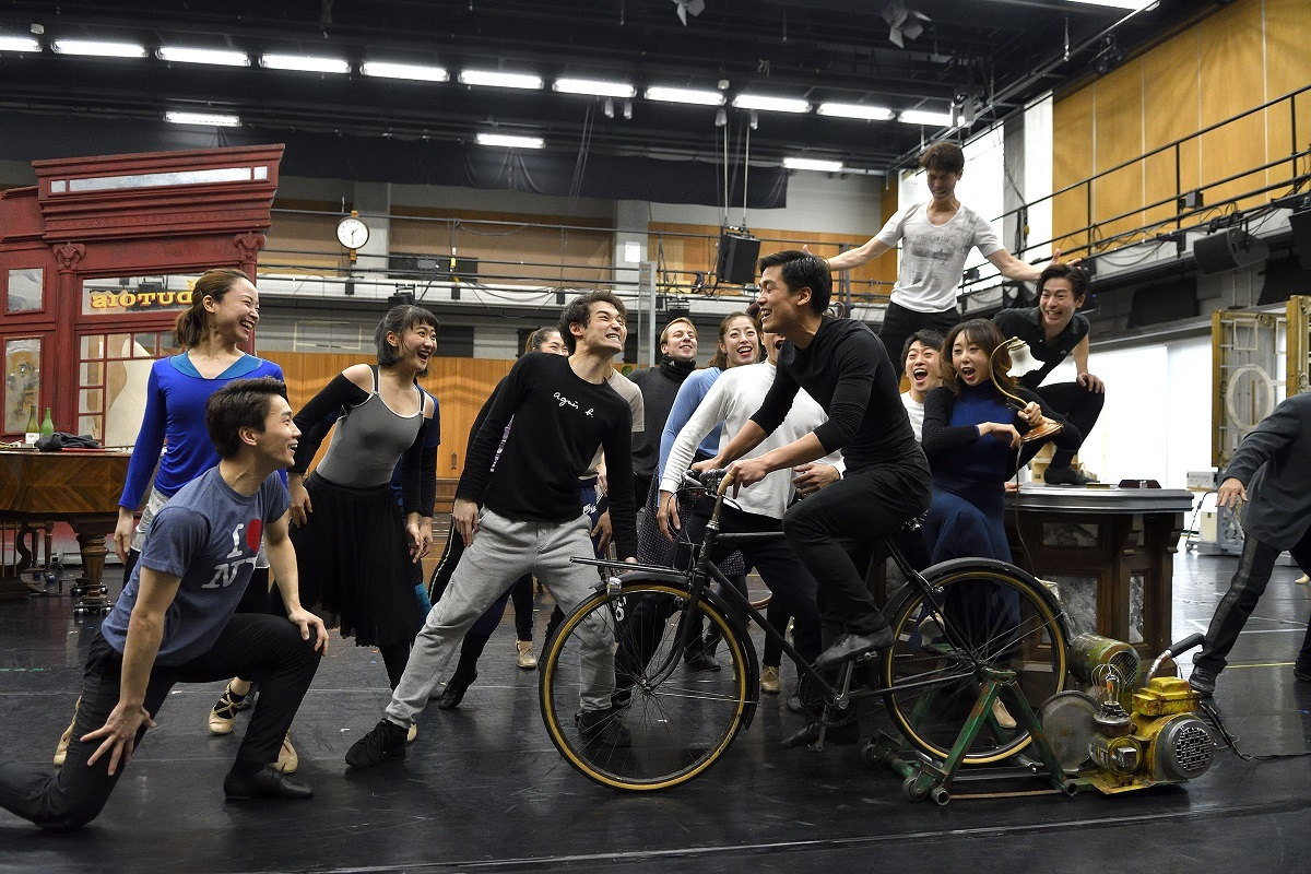 劇団四季『パリのアメリカ人』公開稽古(撮影:荒川潤)
