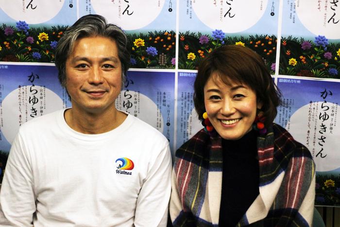 綱島郷太郎と安藤瞳