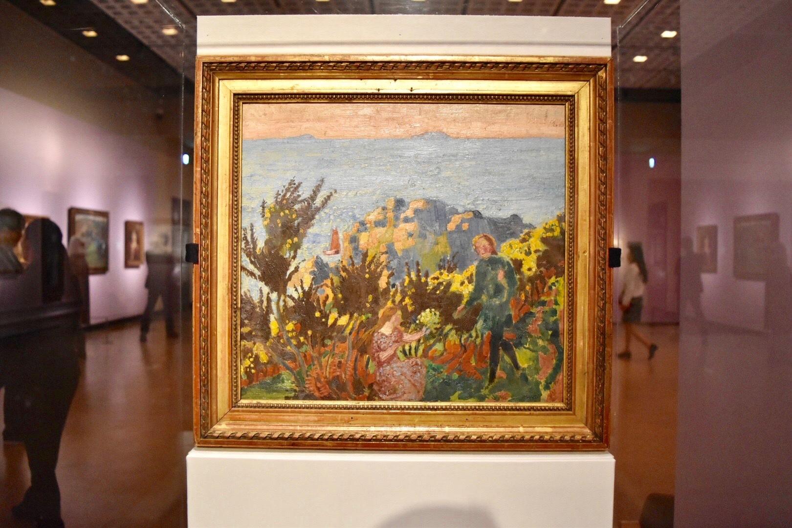 モーリス・ドニ 《ハリエニシダ》 1917年以前 国立西洋美術館蔵