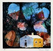 駒井哲郎《題名不詳》1971年頃 世田谷美術館(福原義春コレクション) (c)Yoshiko Komai 2018/JAA1800117