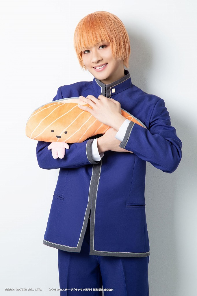 若野ゆず役:大見拓土 (C)2021 SANRIO CO., LTD. ミラクル☆ステージ『サンリオ男子』製作委員会 2021 S/F・G