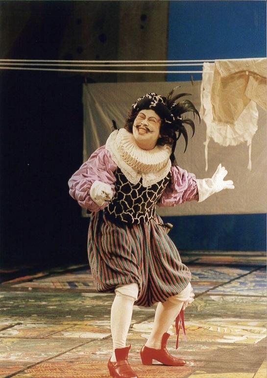 ニコライ 歌劇「ウィンザーの陽気な女房たち」よりDr.カイウス (1998.6.ドイツ・ケムニッツ市立劇場)