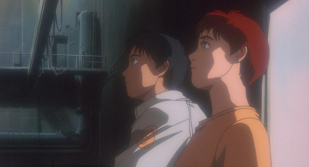 篠原遊馬&泉 野明 (C)1993 HEADGEAR/BANDAI VISUAL/TOHOKUSHINSHA/Production I.G