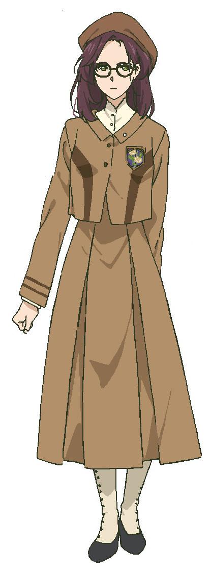 【イザベラ・ヨーク】 CV:寿 美菜子 大貴族・ヨーク家の跡取り娘。自分の将来を悲観している。教育係として派遣されてきたヴァイオレットを快く思っていない。