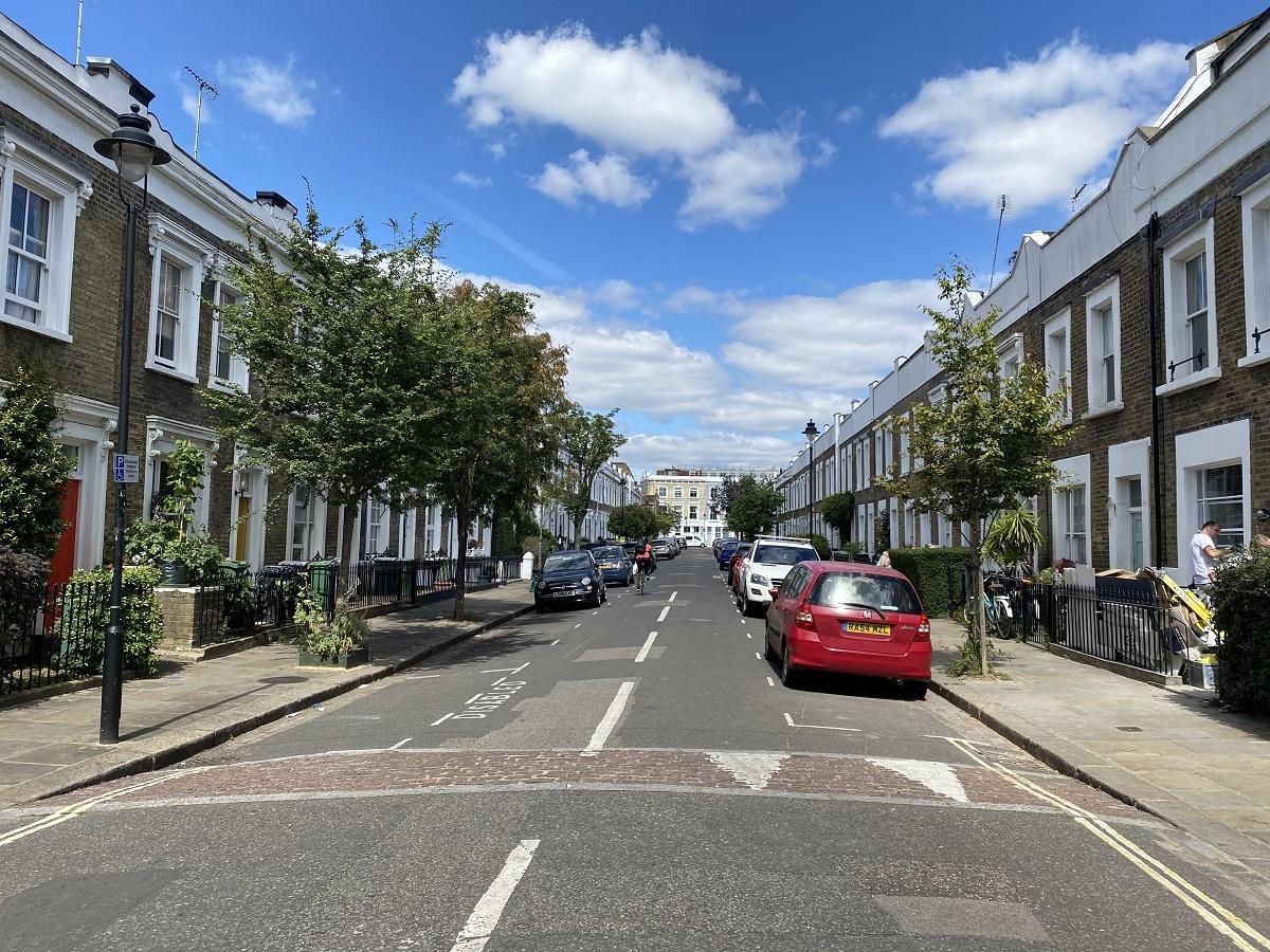 ロンドンの町並み 撮影:分島花音
