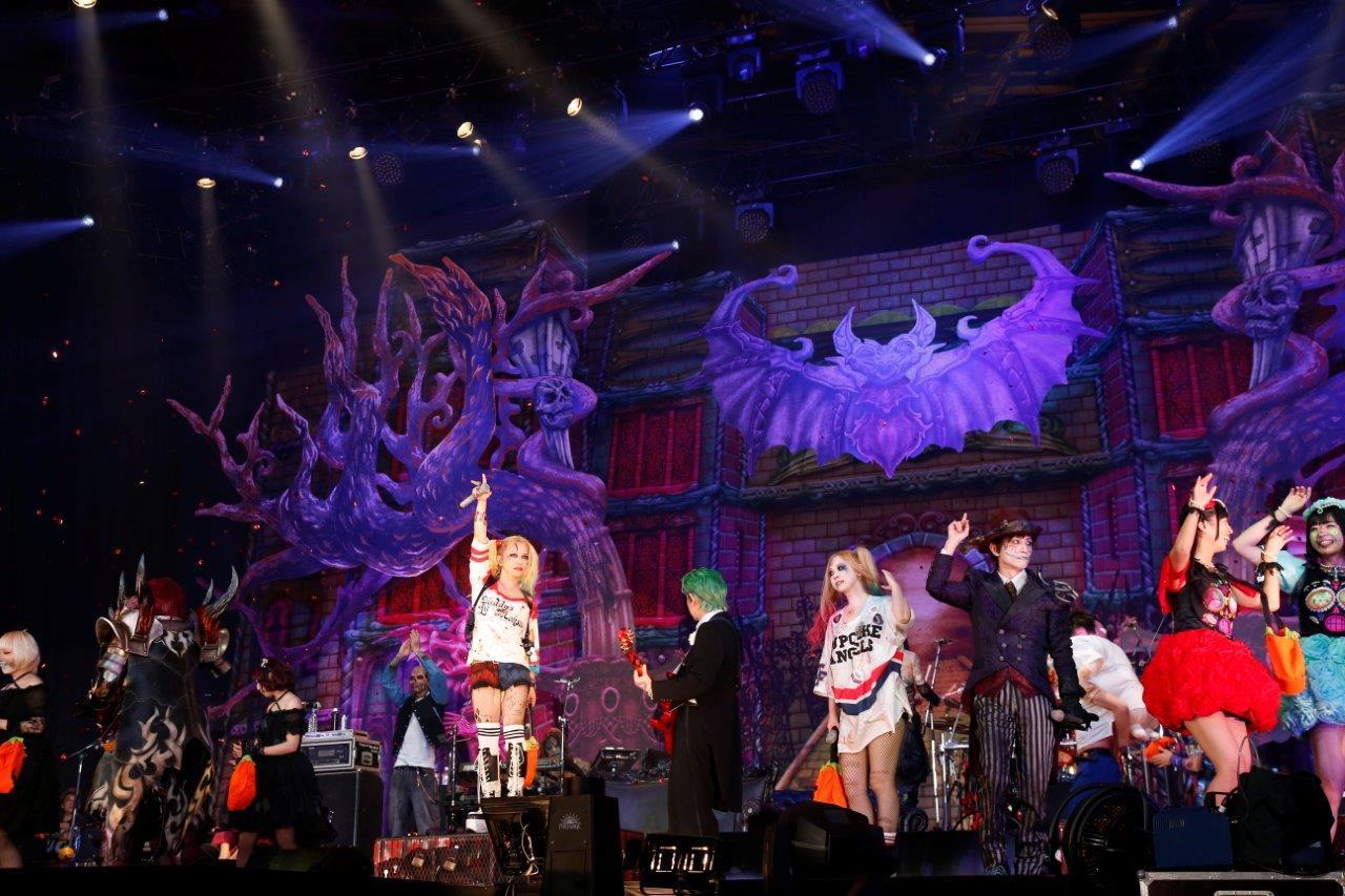 HALLOWEEN JUNKY ORCHESTRA『HALLOWEEN PARTY 2016』10月28日 撮影=今元秀明、緒車寿一、田中和子